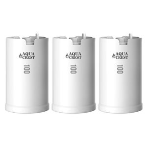 three water filtration cartrigde