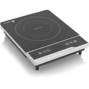 black induction cooktop