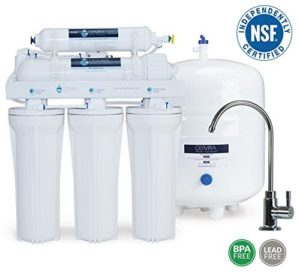nsf certified reverse osmosis water filter