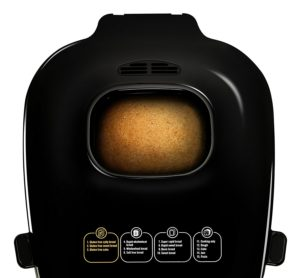 bread maker top view